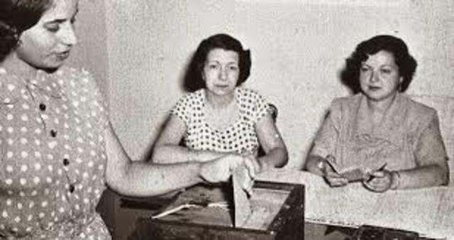 Ley Del voto Femenino