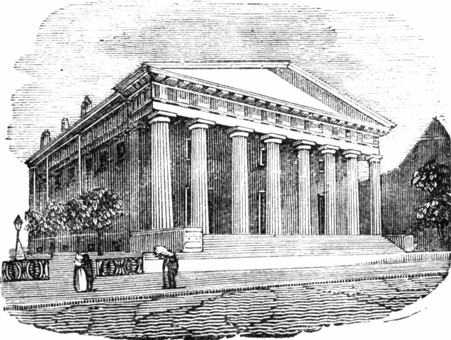 The Second Bank of the United States is Built (Economic)