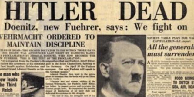 Suicidio de Adolf Hitler