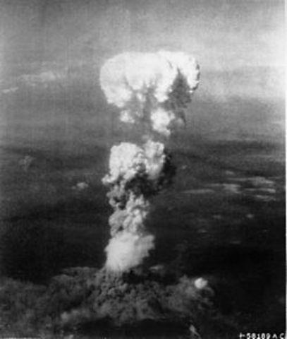 Bombardeo atómico sobre Hiroshima