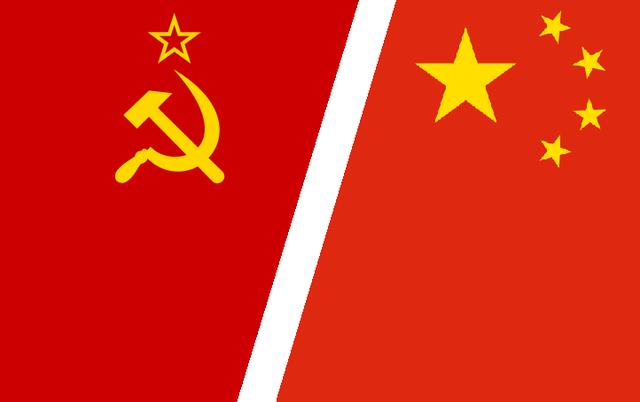 China y la Unión Soviética