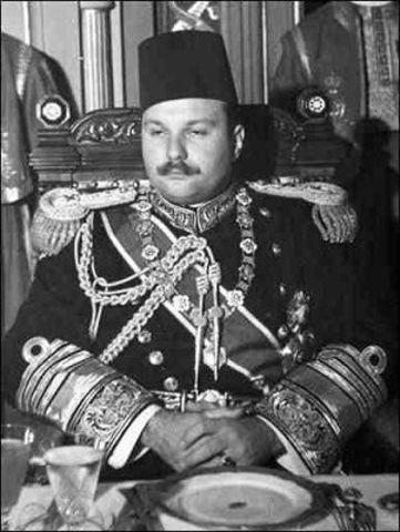 Egipto-Un golpe de estado derroca al rey Faruk I