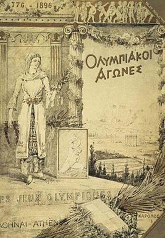 primeros juegos olímpicos (Atenas, Grecia)