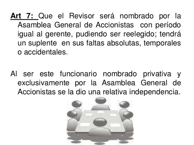 Primer Desarrollo de las Funciones del Revisor Fiscal