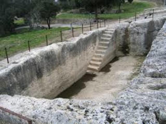 abastecimiento de agua siglo V