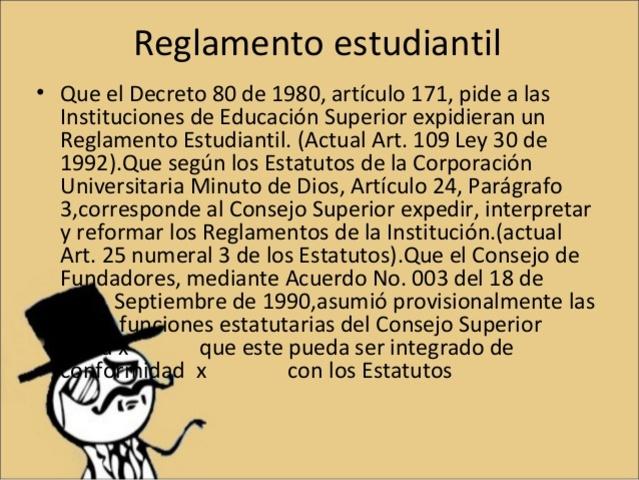 Organización del Sistema De Educación PostSecundaria