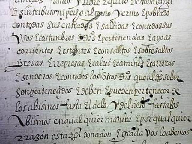 Documentos de la Edad Media