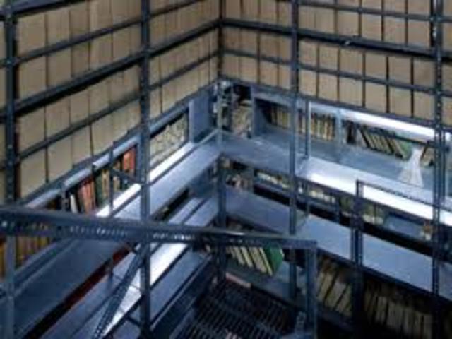 Historia del archivo en chile