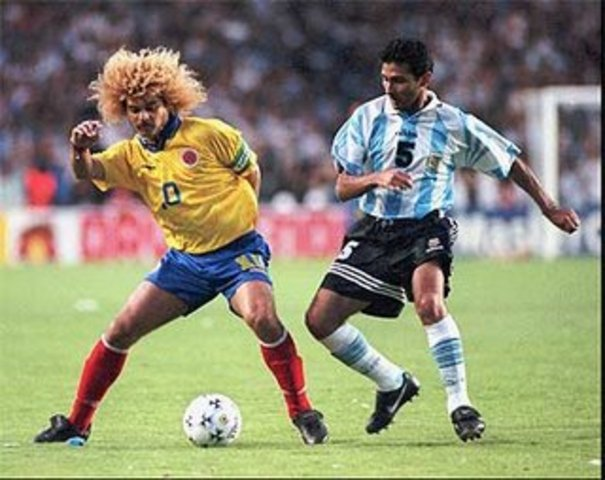 Colombia 5 - Argentina 0