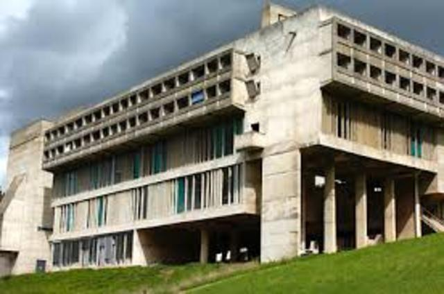 Le Tourette, Convento Domenicano, Eveux-sur-Arbresle, Francia, 1955-1959