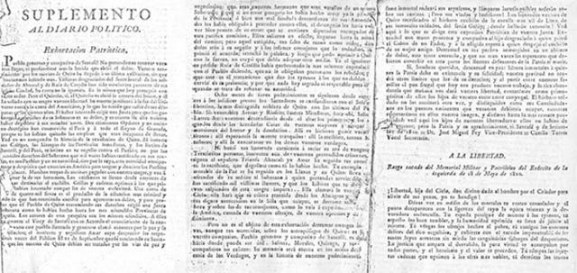 """Primer """"Diario Político de Santa Fé"""""""