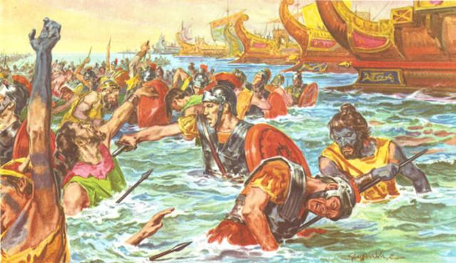 The fist invasion of britain