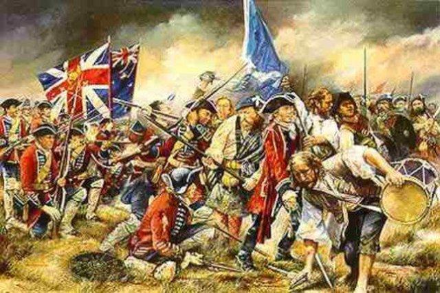 Romans conquer Scottish flag Scotland