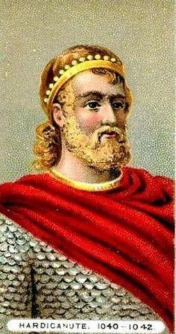 King Canute of Denmark