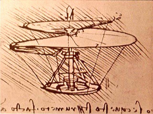 Estudios de Da Vinci
