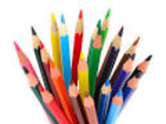 lápices con colores