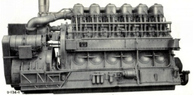 El motor de cuatro tiempos