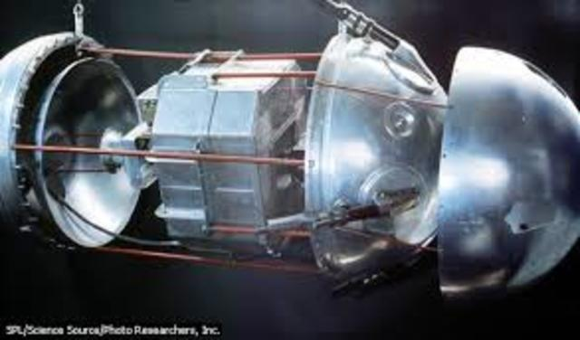 Satélite artificial: el Sputnik 1