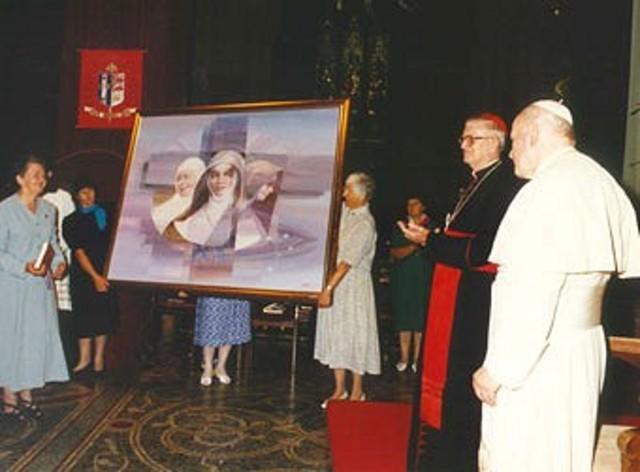 Mary's Beatification