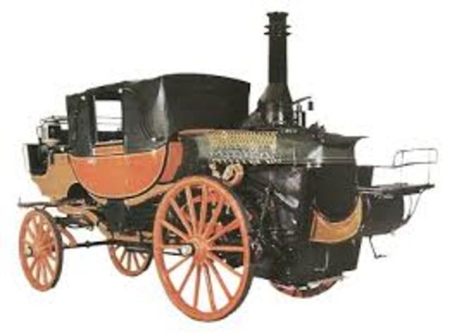 vehiculo a vapor