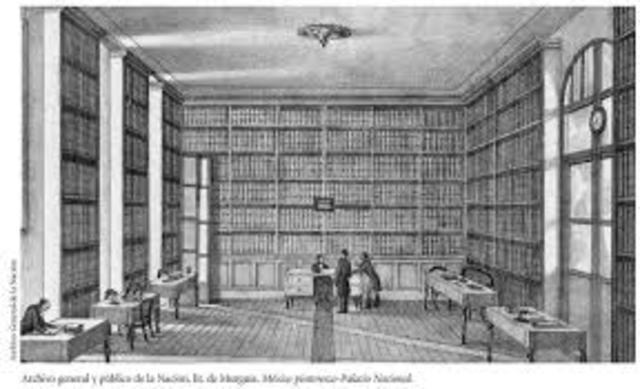 Archivo nacional como una dependencia