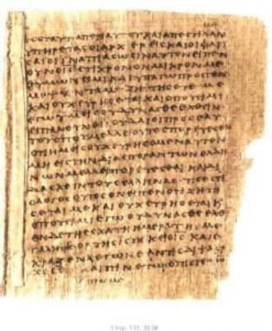 Creacion de papiros