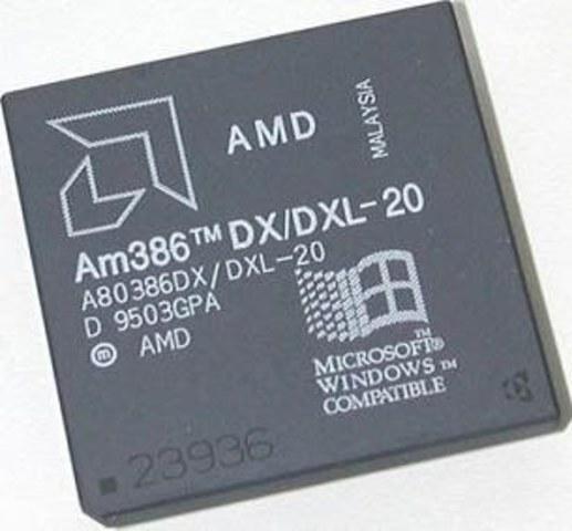 80386, AMD