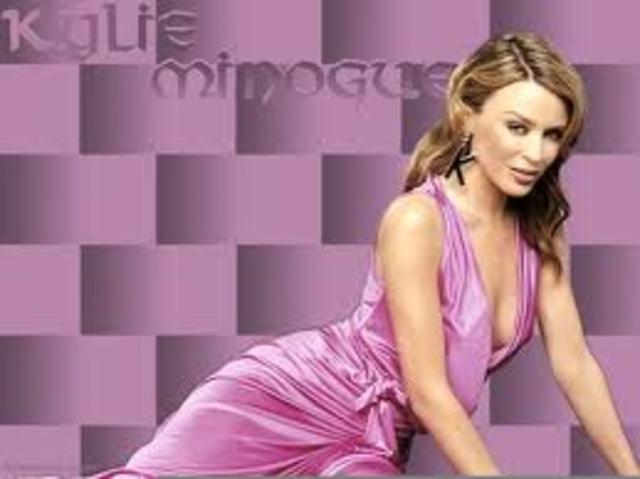 Kylie Minogue's debut album,
