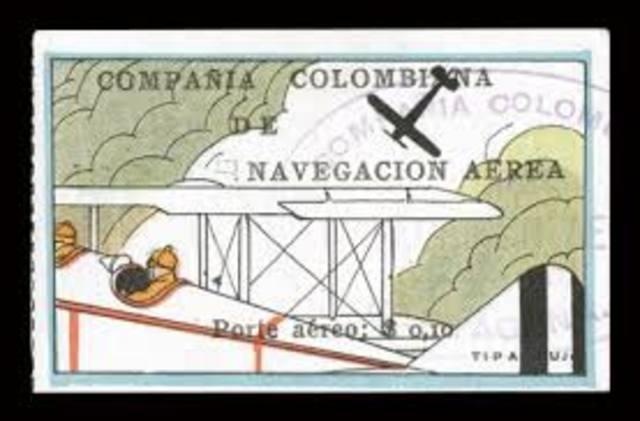 Primera aerolinea colombiana CCNA