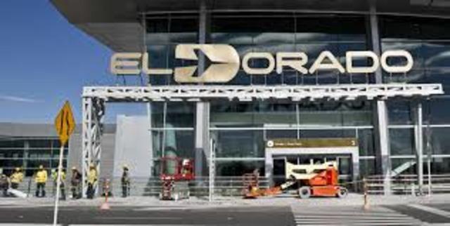 inician construcción del aeropuerto El Dorado
