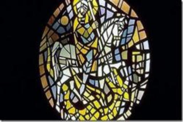 El vidrio - Edad media