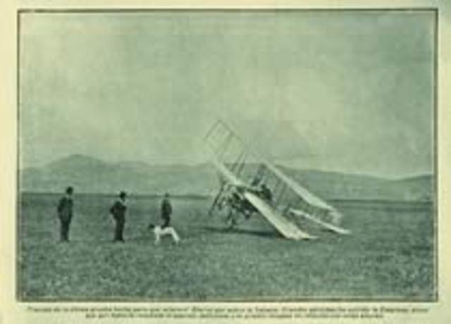 Aeroplano Bleriot.