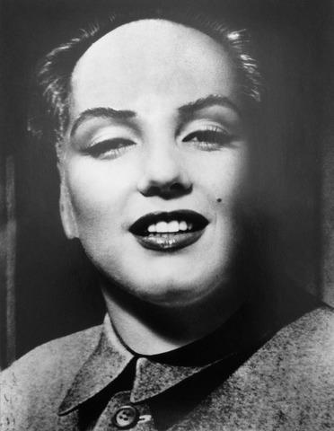 Portrait de Marilyn Monroe en tant que Président Mao Zedong