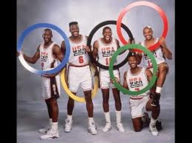 El mejor equipo del baloncesto jamás reunido hasta la fecha, El Dream Team