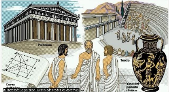 350 a. c. Griegos