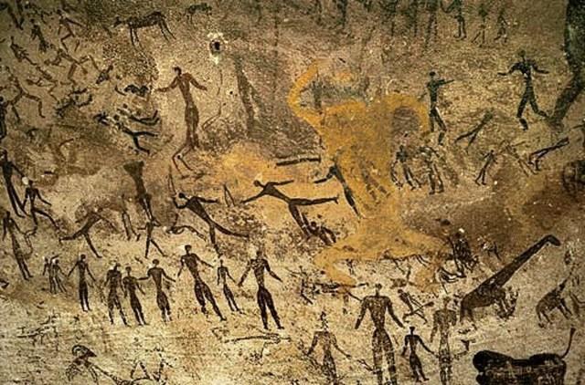 INICIO O GÉNESIS DISEÑO GRÁFICO  (20 mil A.C)