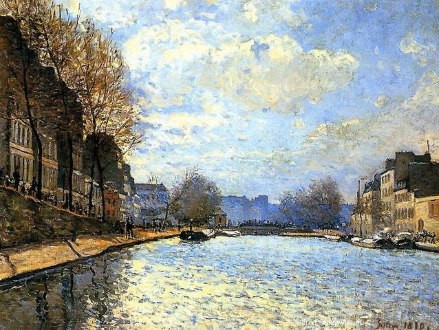Alfred Sisley-Impressionist Landscaper