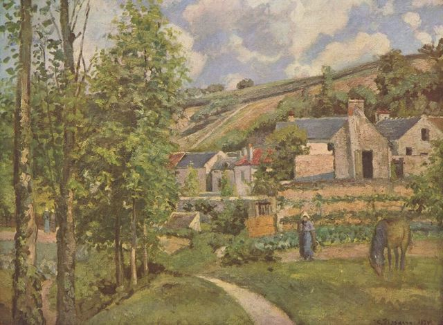 Camille Pissarro-French Impressionist and Neo-Impressionist Painter