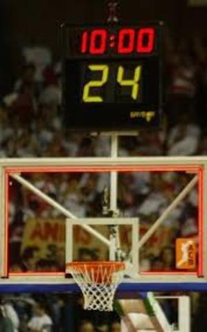 Se establece el tiempo de posición del balón en 24 segundos.