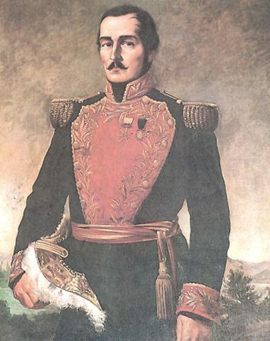 Francisco de apula Santander presidente.