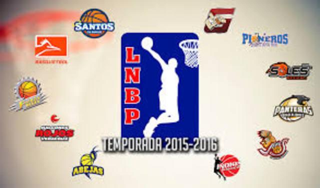desde la temporada 2004 se dividio en dos zonas la LNBP Norte y sur.