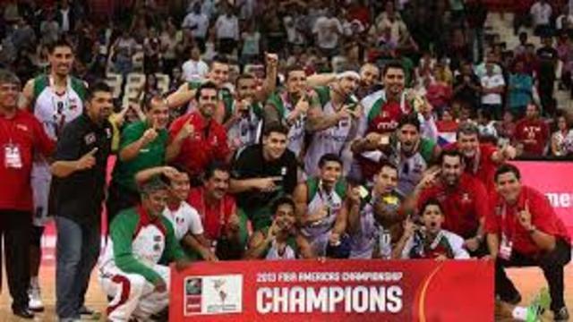 seleccion mexicana de baloncesto gana la medalla de oro en el torneo copa FIBA america 2013