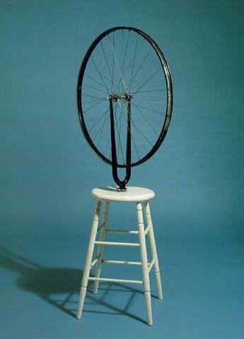 Marcel Duchamp - Roue de bicyclette