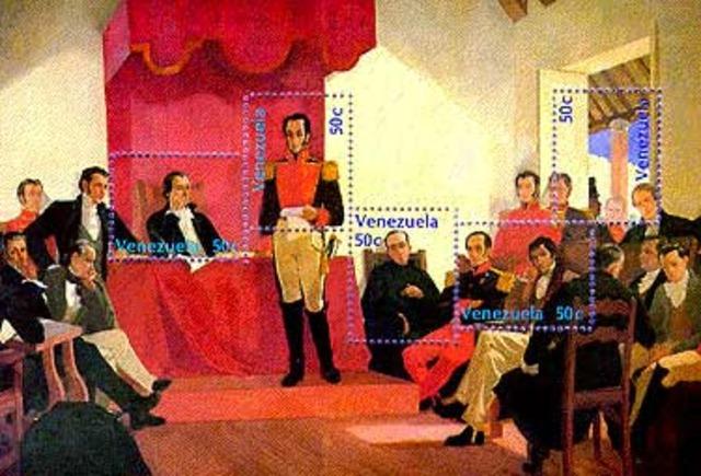 Instalado el Congreso de Angostura.