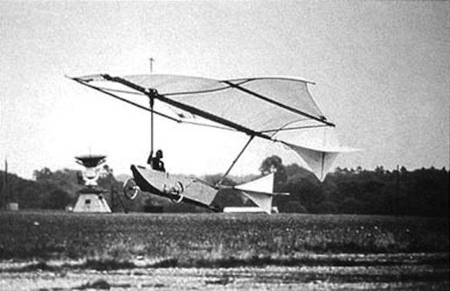 Primer planeador.