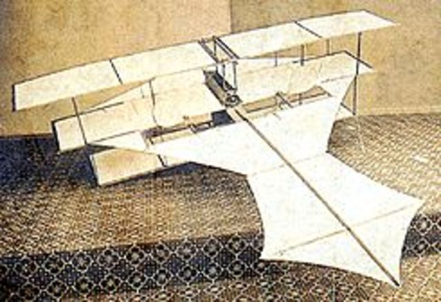Aerial steam carriage.
