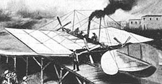 Segundo vuelo tripulado con motor.