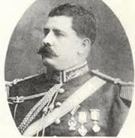 Félix Díaz se levanta contra Madero
