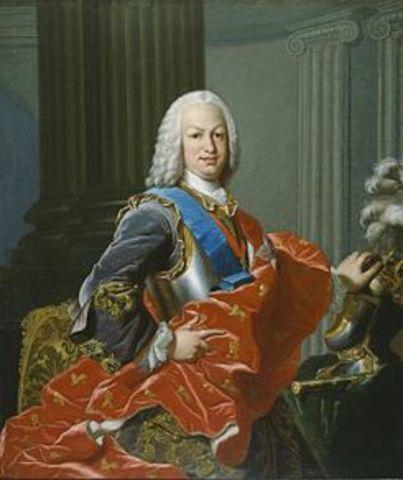 Nacimiento de Fernando, futuro Fernando VI