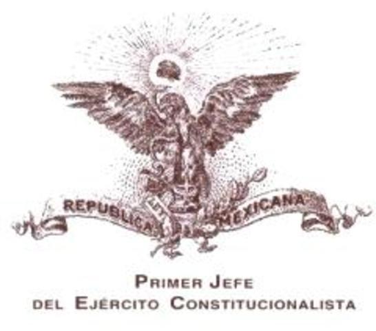 El gobierno de Carranza es reconocido por EUA